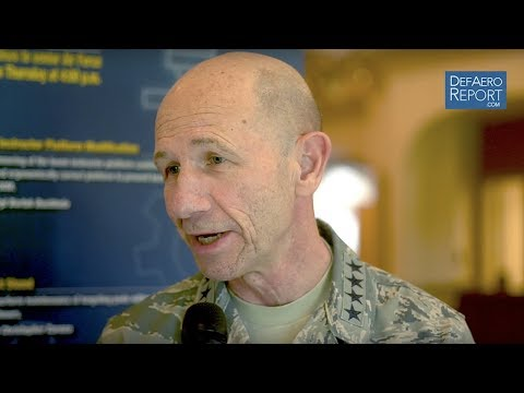 USAF's Holmes on Readiness Investment, Pilot Retention, Budget Priorities, JSTARS