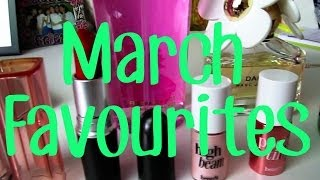 March 2014 Beauty Favourites - The Body Shop, MAC, Benefit Thumbnail