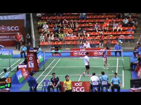 2013 world junior Bangkok Thailand jooven soong mark caijouw 21 18 21 17