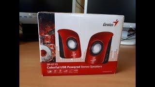 Genius SP-U115 mini hangfal teszt