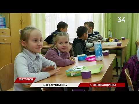 34 телеканал: В школе села Александровка под Днепром полгода не работает пищеблок