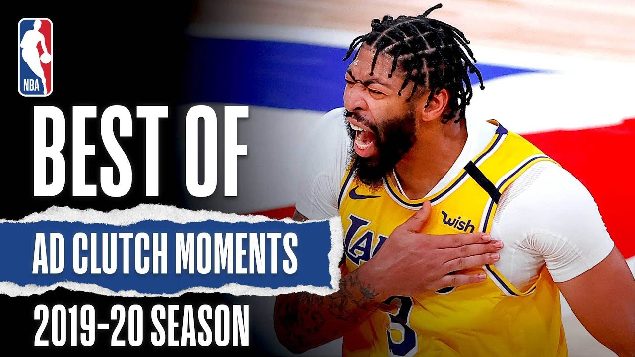 The Best Of Anthony Davis in the CLUTCH 2019-20 Season