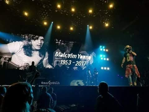 Guns N' Roses Tribute to Malcolm Young - Whole Lotta Rosie (HD) | Sacramento, CA 2017