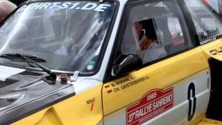 Walter Röhrl bei Stormarn-Rallye des MSC Trittau