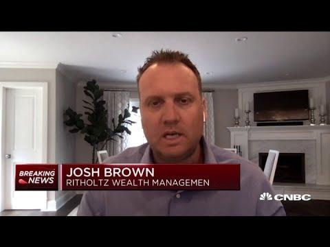 Josh Brown: Market can't bottom until coronavirus cases peak