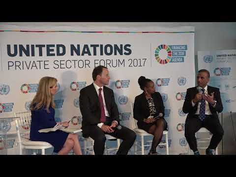 UN Private Sector Forum 2017 - Interview Panel Two: Aligning Business with the SDGs