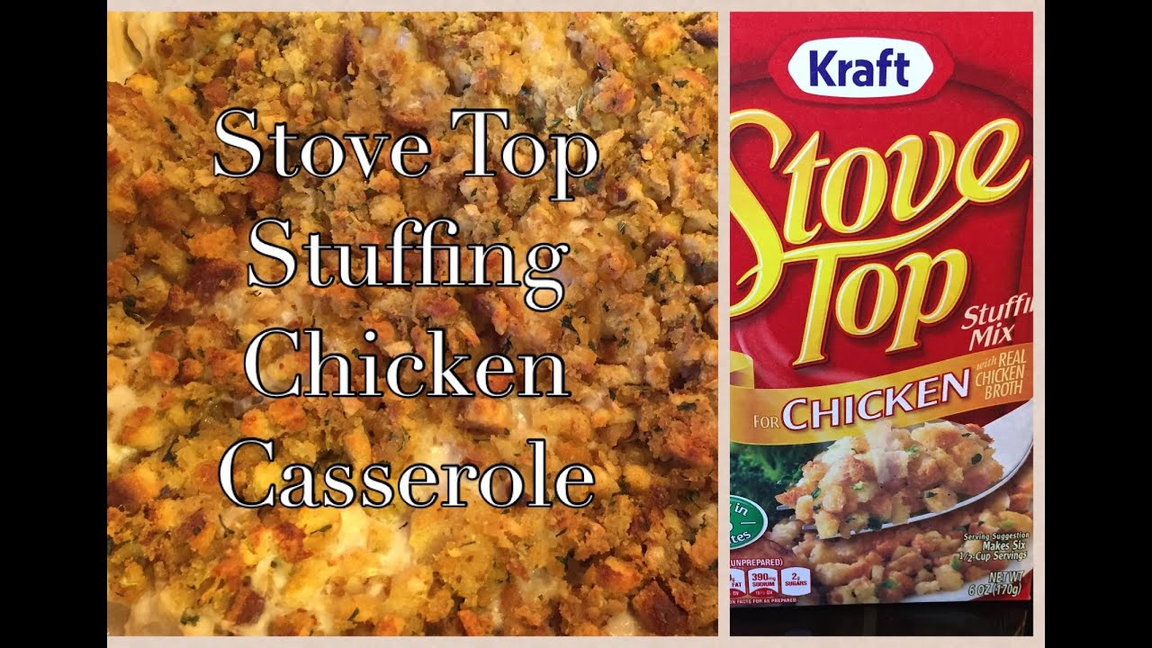 Stove Top Stuffing Chicken Bake Casserole Kraft