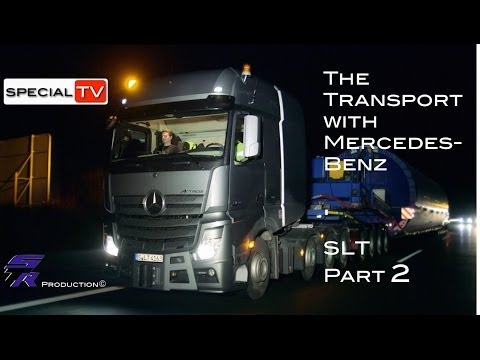 Heavy transport truck Mercedes-Benz SLT ,transport, testing parts and information