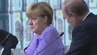 Анекдот Путина и реакция Меркель! Это надо видеть! ТАКОЕ НЕ ПОКАЖУТ ПО ТВ!