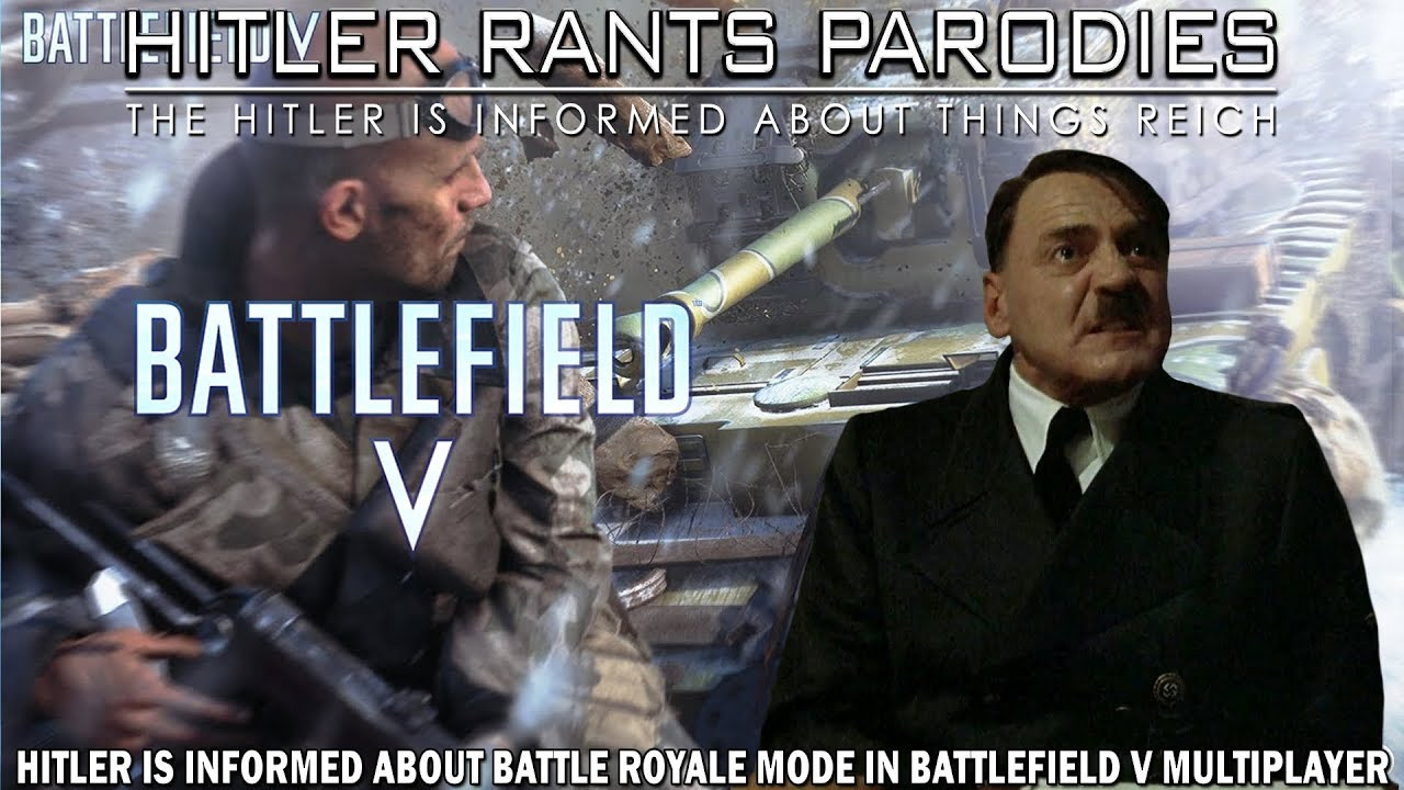 Hitler is informed about Battle Royale mode in Battlefield V Multiplayer