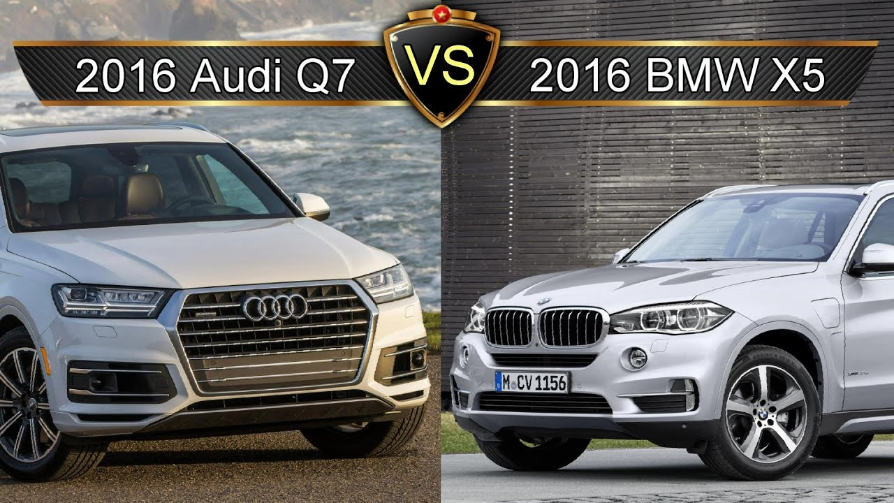 2017 audi q7 vs bmw x5 by the numbers youtube. Black Bedroom Furniture Sets. Home Design Ideas