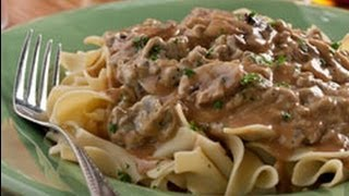 Farmstyle Hamburger Stroganoff