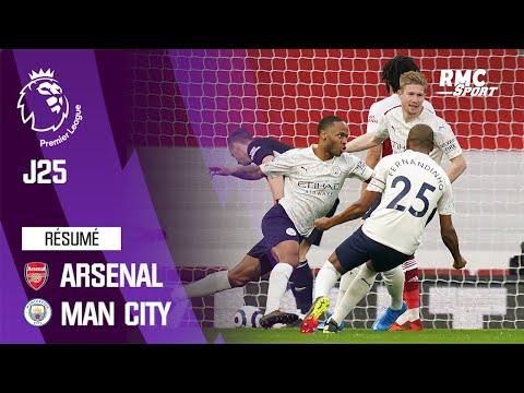 Résumé : Arsenal 0-1 Manchester City – Premier League (J25)