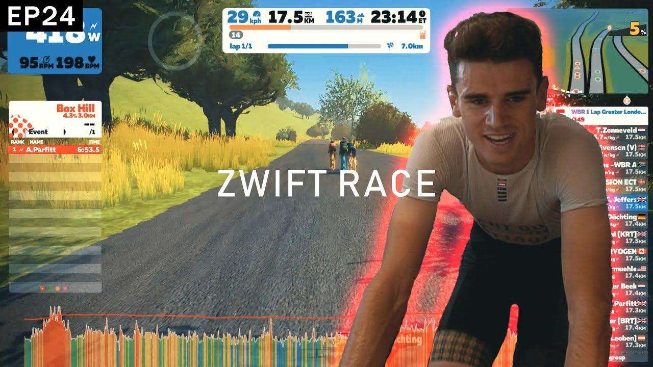 RACING WITH PRO CYCLISTS *Zwift Racing* | Ep 24