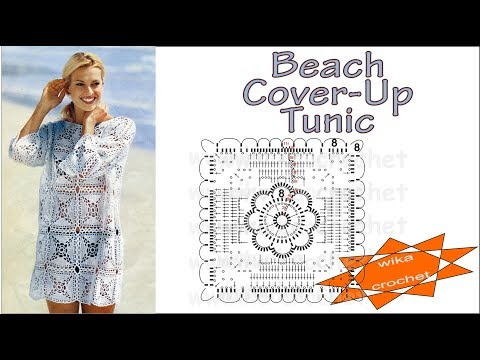 Crochet Beach Cover Up Tunic Wika Crochet Live Youtube