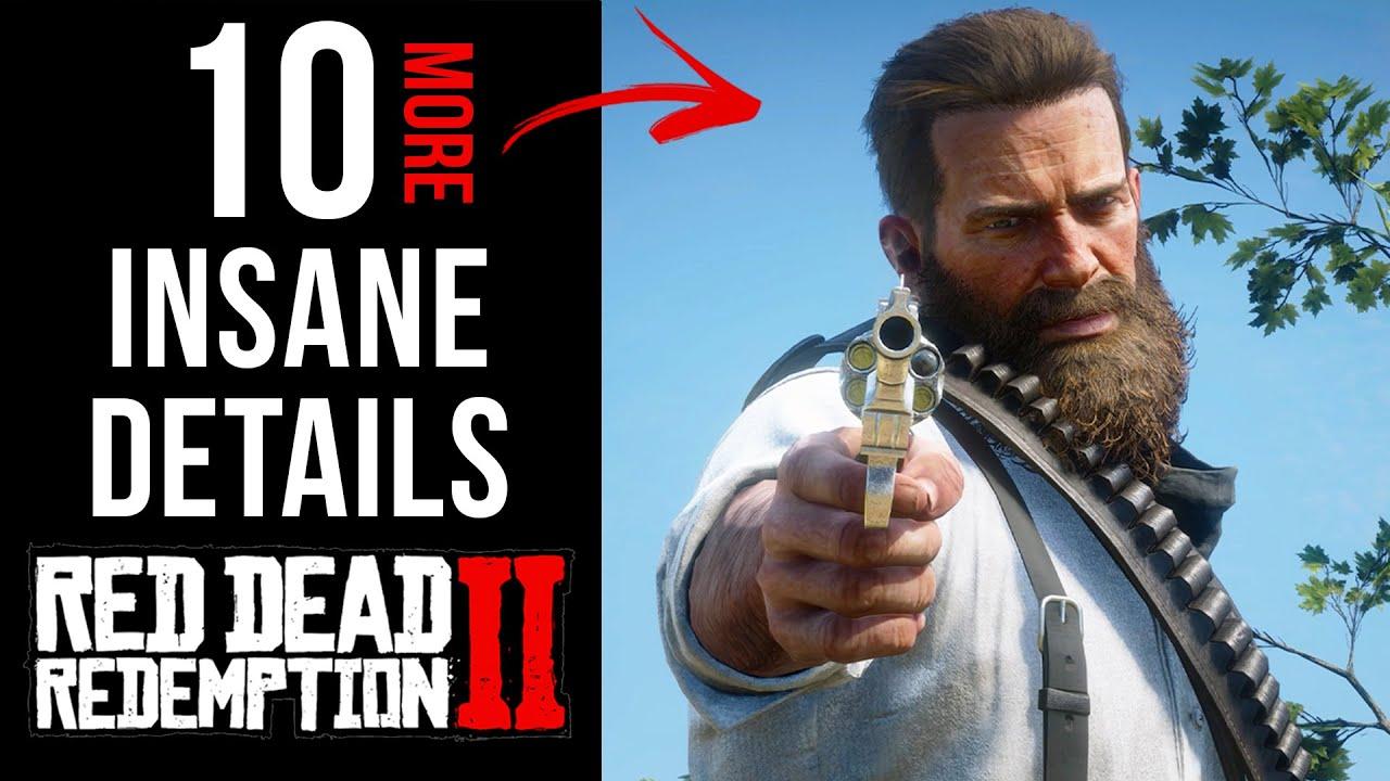 10 More INSANE Details in Red Dead Redemption 2 (Part 9)