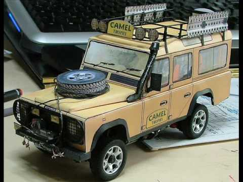 Defender Camel Trophy Rc Youtube