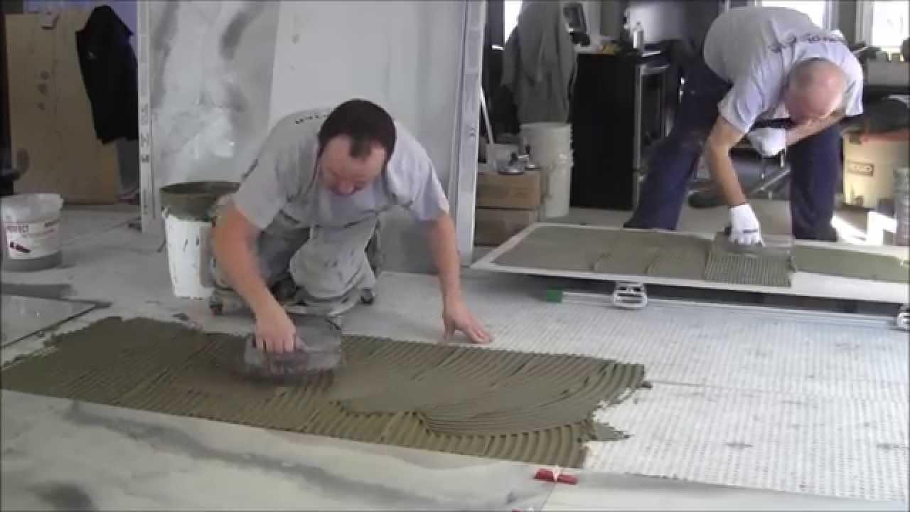 how to install porcelain tiles 3 x6 80cm x 180cm