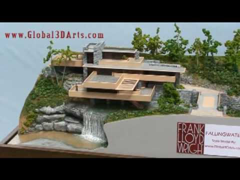 3d Architectural Animation Frank Lloyd Wright Falling