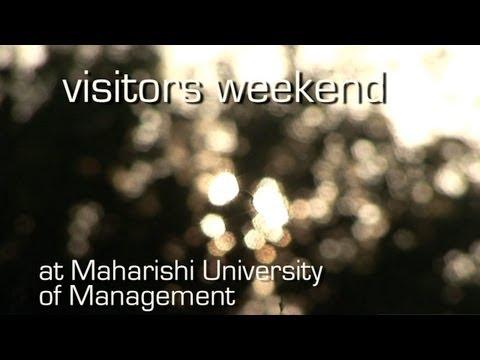 Visitors Weekend at Maharishi University