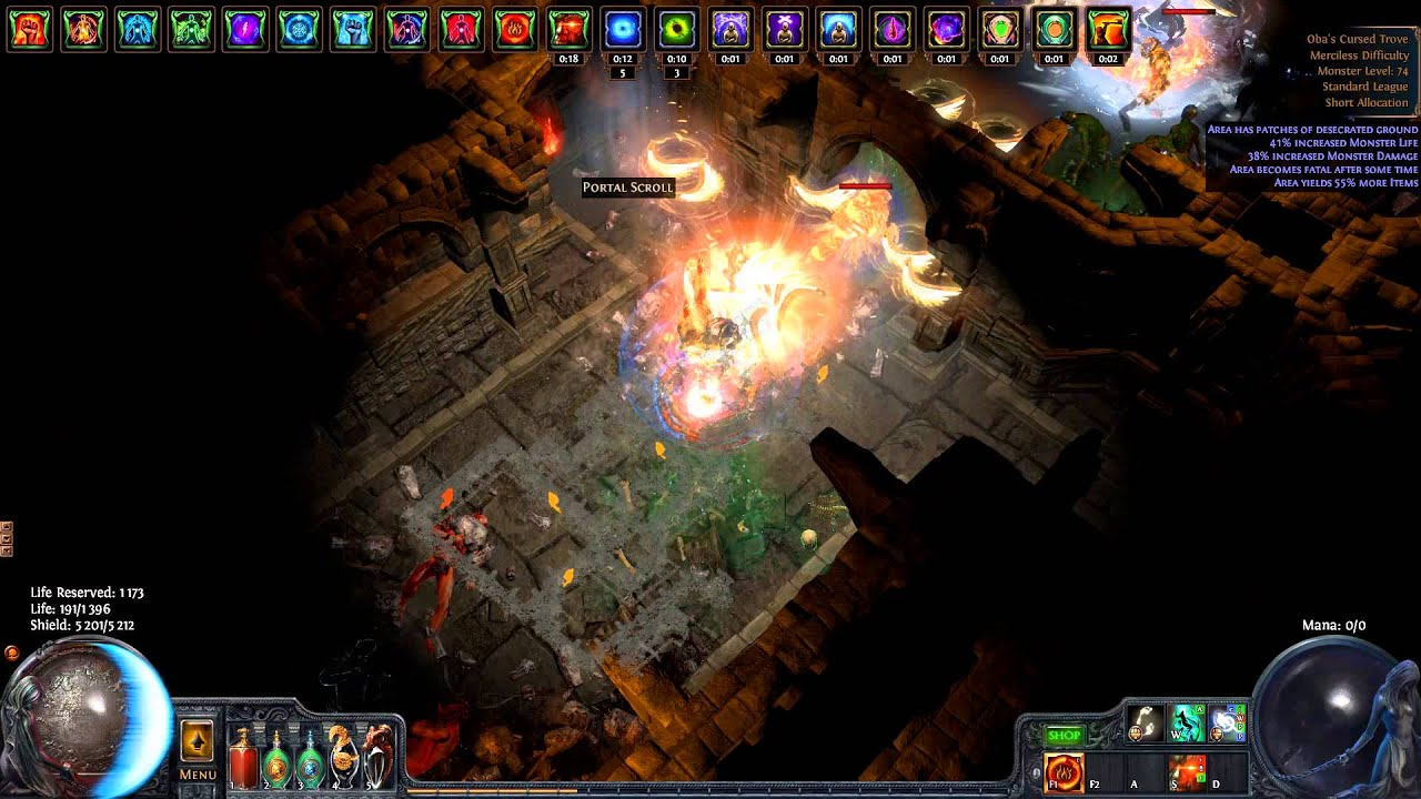 path of exile new unique map oba s cursed trove torture chamber