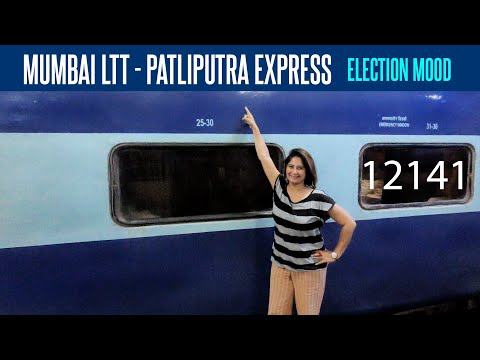 Train To Patna: 12141 Mumbai LTT Patliputra Sf Express | Train Vlog 02 🚂