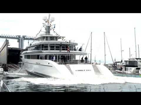 Cantieri Navali Codecasa - M/Y Family Day 65m Launch Ceremony