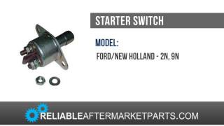 Ford New Holland 2N 9N Tractor Push Button Starter Switch 86531629