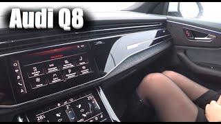 7 Миллионов В Пустую ?!  Новая Audi Q8 ТЕСТ Драйв , Обзор Автомобиля , АУДИ 2019 - 2020 .