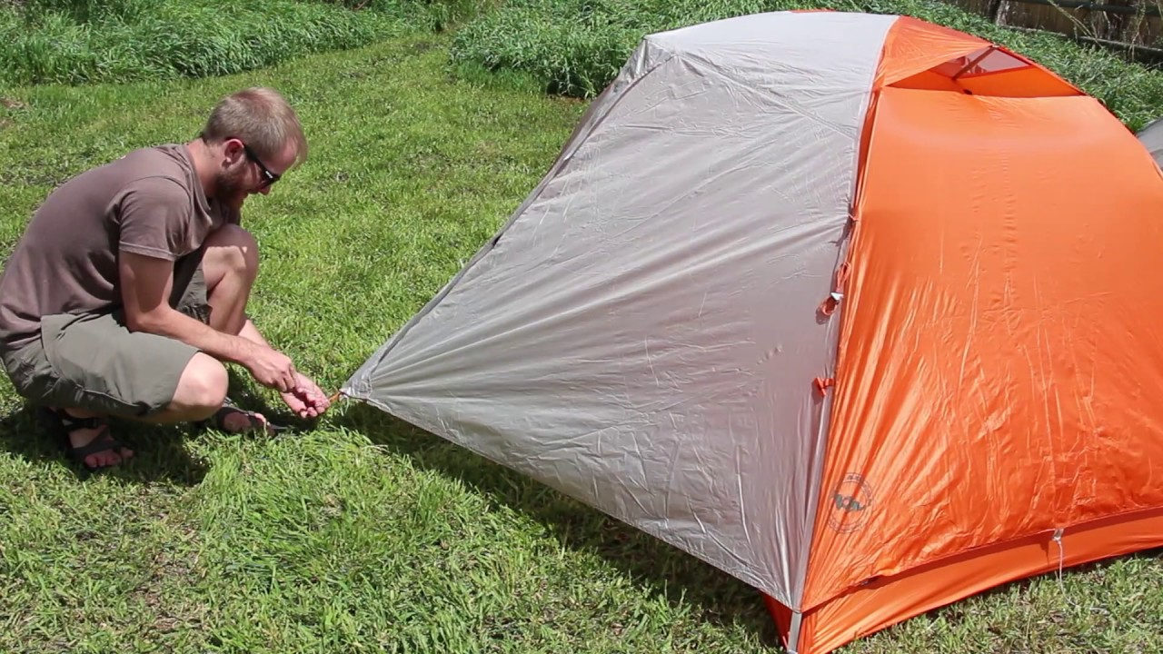 The Perfect Pitch - How to Guy Out a Tent & The Perfect Pitch - How to Guy Out a Tent - YouTube