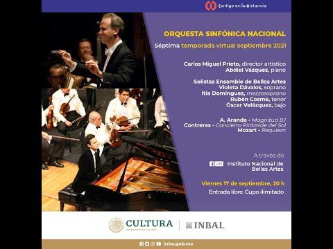 A. Aranda, Contreras, Mozart / Orquesta Sinfónica Nacional / México
