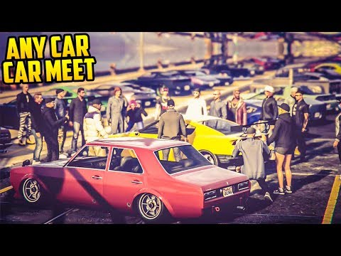 GTA Online ANY CAR CAR SHOW The Best Cars Customization YouTube - Any car shows near me