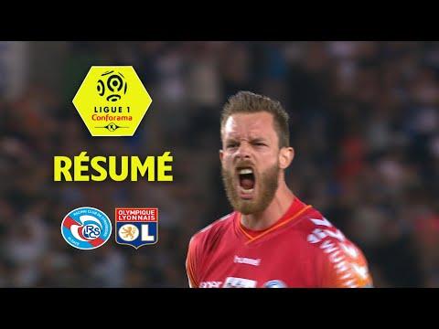 RC Strasbourg Alsace - Olympique Lyonnais ( 3-2 ) - Résumé - (RCSA - OL) / 2017-18