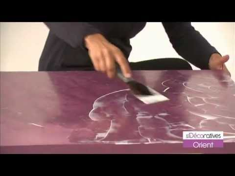 peinture les d coratives orient sur youtube. Black Bedroom Furniture Sets. Home Design Ideas