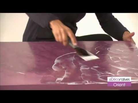 Peinture les d coratives orient sur youtube - Peinture les decoratives ...