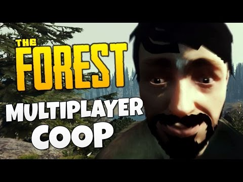 2 GAY DADS IN THE FOREST - The Forest Multiplayer Co-op Gameplay