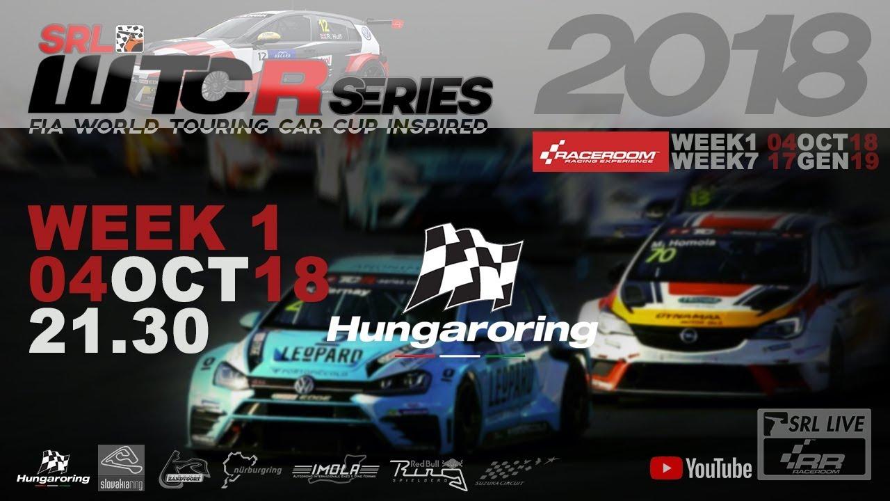 SRL WTCR Series: All'Hungaroring sono Bivacqua e Daniele ad apporre