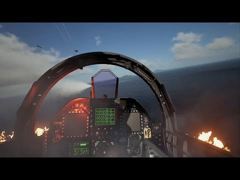 「ACE COMBAT(TM) 7: SKIES UNKNOWN」PlayStation(R) LineUp Tour VRモードTRAILER