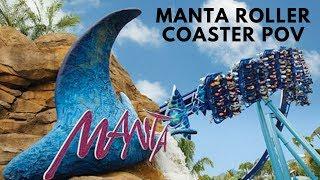 Manta Madness Roller Coaster at Sea World San Diego