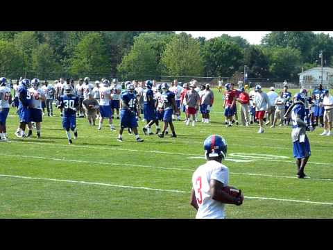 Giants Training Camp - 11 August 2010