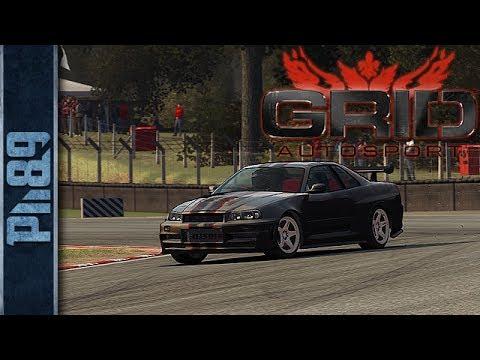 GRID Autosport Cockpit View Gameplay, Replay - Nissan Skyline, Brands Hatch GP Circuit (HD 7970)