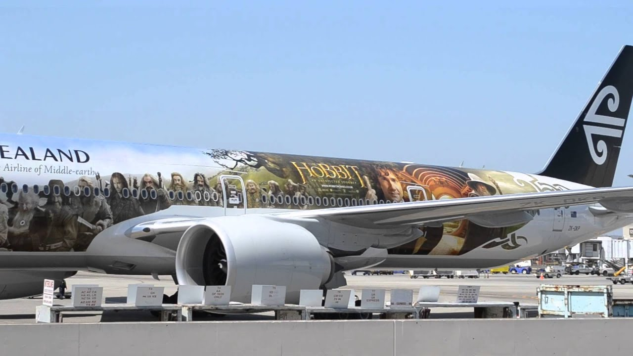 Lord Of The Rings Airplane