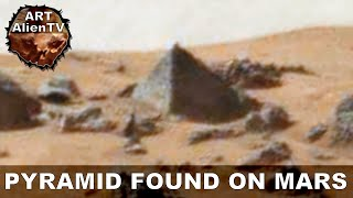 PYRAMID FOUND ON MARS ? STONE BUILDING PINNACLE ? ArtAlienTV - 720p60