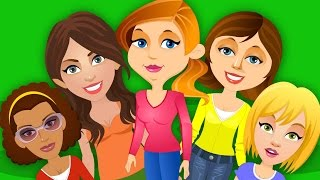Five Strict Moms   Kids Tv Nursery Rhymes And Childrens Song For Kids