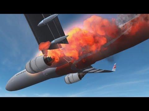 LOS PEORES ACCIDENTES DE AVIÓN !! - Flight Alert | Fernanfloo