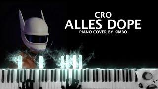 Cro - ALLES DOPE (piano tutorial/cover/noten)