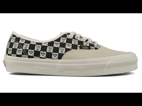ebce716f23 Shoe Review  Vans Vault Originals x Spongebob Squarepants OG Authentic LX ( Yellow Black)