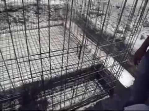 Cisterna 10 mil litros con armado de varilla 3 8 youtube for Cisternas de cemento