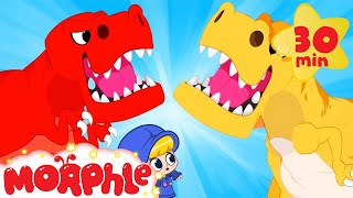 Dinosaur's ALIVE - Back in Time | Mila and Morphle | Cartoons for Kids | Morphle TV