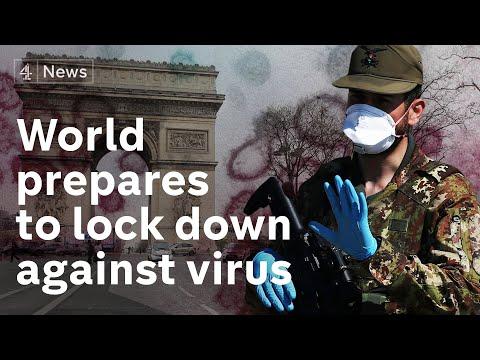 Coronavirus update: Macron puts France on lockdown, UK shifts ...